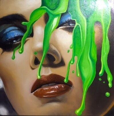 Manzur Kargar, 'Face splash 4'