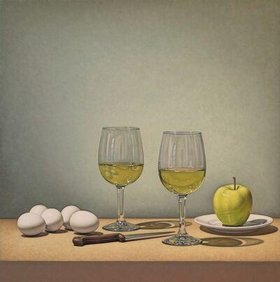 Tom Gregg, 'White Wine, Eggs, and Apple'