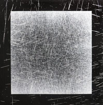 L'outsider, 'Peinture 1x1 madmaxx sur toile #3', 2019