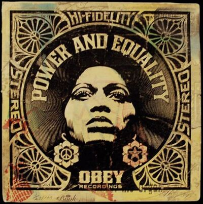 Shepard Fairey, 'Afrocentric Power and Equality', 2007