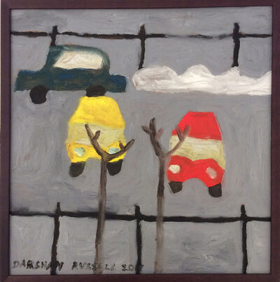Darshan Russell, 'Parked Cars', 2017