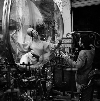 Melvin Sokolsky, 'Bird Cage Intrigue, Paris', 1963