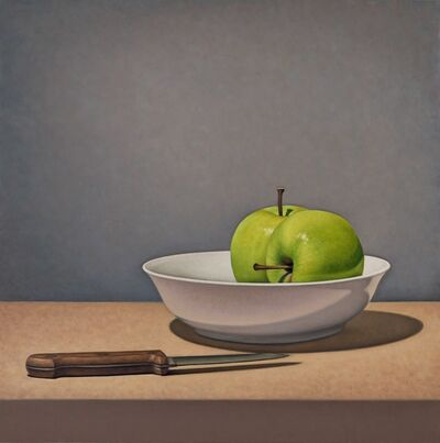 Tom Gregg, 'Apples and Knife', 2018