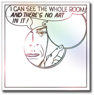 LG Williams, 'I Can See The Whole Room, And There's No Art In It', 2011