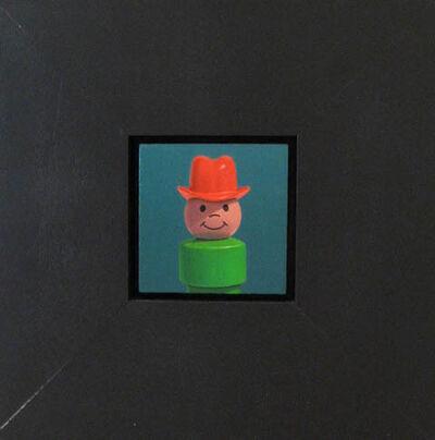 Chris Cosnowski, 'Cowboy (red hat)'