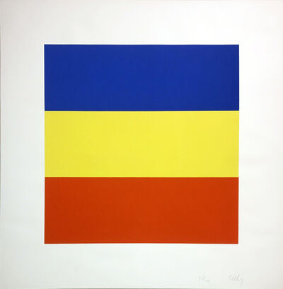 Ellsworth Kelly, 'Blue/Yellow/Red (Untitled)', 1970-1973