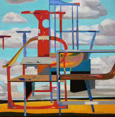 Huang Duo Ling 黄多玲, 'Chair and Clouds  ', 2017