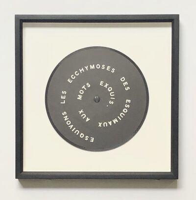 Marcel Duchamp, 'Contrepetrie', 1968
