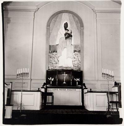 Diane Arbus, 'Shrine of the black Madonna, Detroit, Mich.', 1970