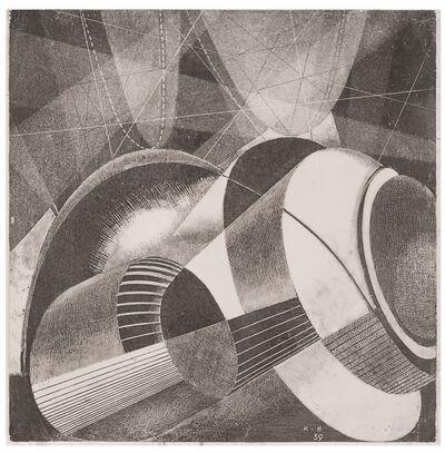 Karol Hiller, 'Heliographic composition XLIII', 1939
