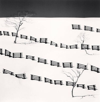 Michael Kenna, 'Thirty One Snow Fences, Bihoro, Hokkaido, Japan', 2016 (printed 2019)