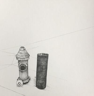 Kiki Gaffney, 'Fire Hydrant & Pylon', 2018