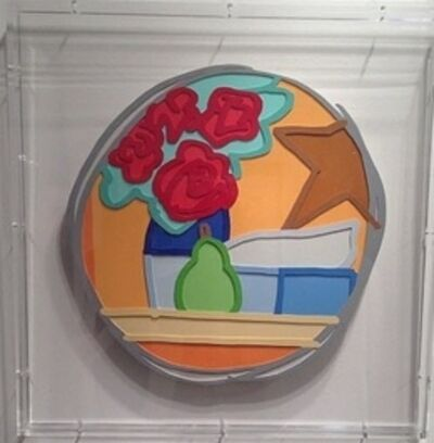 Tom Wesselmann, 'Still Life with Four Roses and Pear', 1993