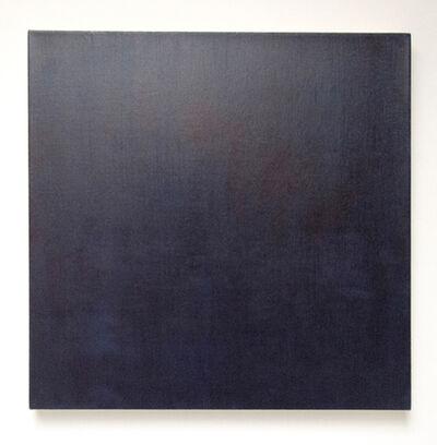 Marcia Hafif, 'Glaze Painting: Indigo', 1995