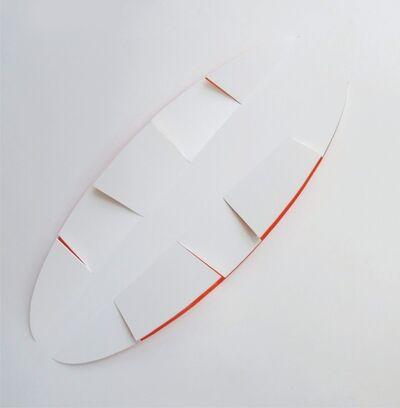 Juan Mejía, 'Signs No. 8 White-red', 2016