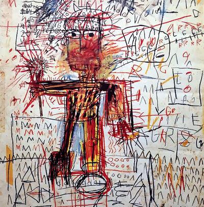 Jean-Michel Basquiat, 'Basquiat Fondation Dina Vierny exhibition poster', 1997