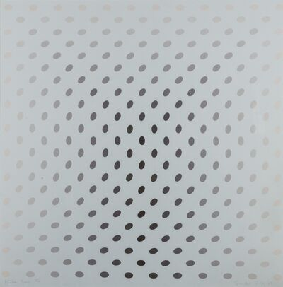 Bridget Riley, 'Untitled from Nineteen Greys (Schubert 8)', 1968