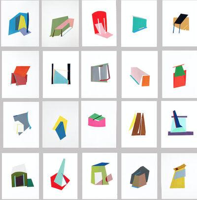 Bettina Vaz Guimarães, 'Localizações Sentimentais Mondego 2 (20 elementos)', 2018