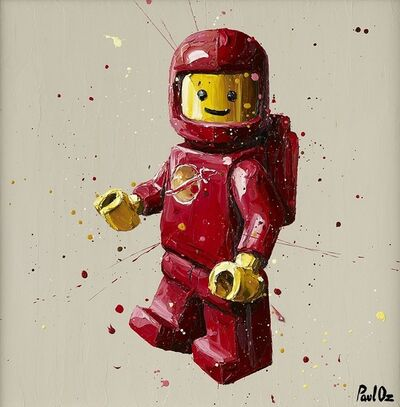 Paul Oz, 'Red Lego Spaceman', 2016