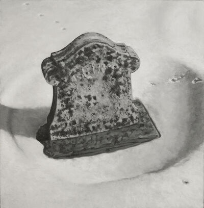 A.J. Fries, 'Grave in Snow #3', 2011