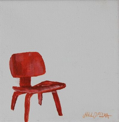 Jill Opelka, 'Red Eames', 2016