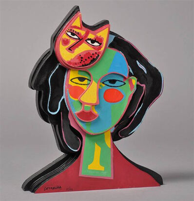 Guillaume Corneille, 'Cat In Love', Unknown