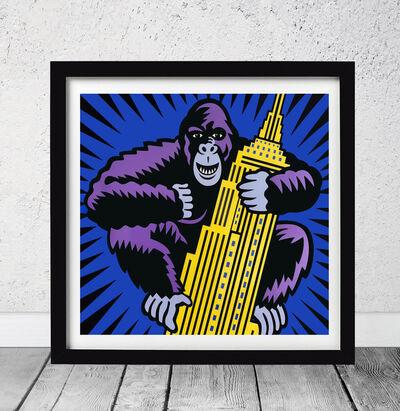 Burton Morris, 'King Kong - Empire State  ', 2018