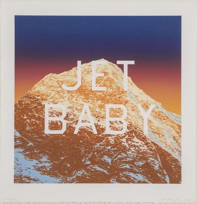 Ed Ruscha, 'Jet Baby', 2011