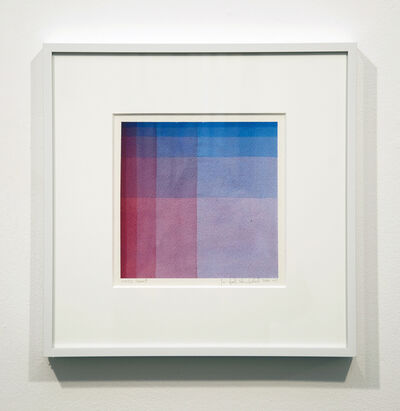 Sanford Wurmfeld, 'Watercolor Series F #2', 2011