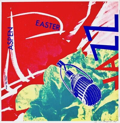 James Rosenquist, 'Aspen Easter Jazz  (from the Estate of Nina Castelli and the Collection of Ileana Sonnabend)', 1967