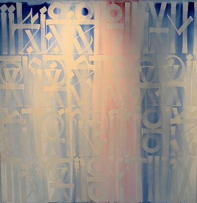 RETNA, 'I Keep My Hand Steady Stacking Straight Lines ', 2012