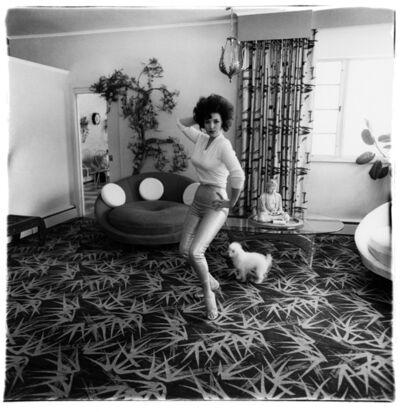 Diane Arbus, 'Blaze Starr in her living room, Baltimore, Md.', 1964 / printed by Neil Selkirk