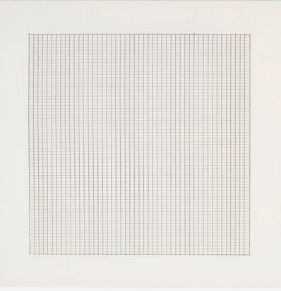 Agnes Martin, 'Untitled #5 (from Stedelijk Museum), 1990', 1990
