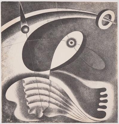 Karol Hiller, 'Heliographic Composition (XLV)', 1939