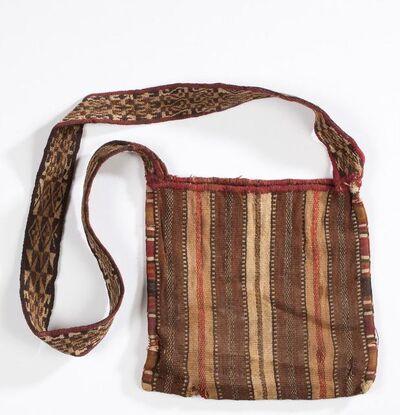 Andean artisan, 'Coca Bag with Shoulder Strap', 1438-1532