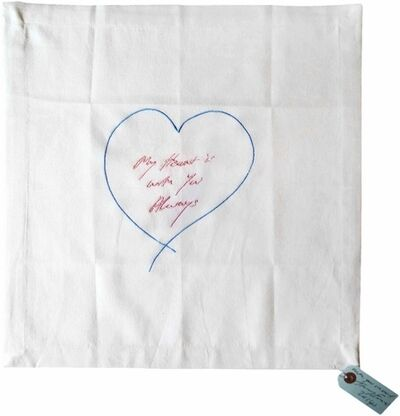 Tracey Emin, 'My Heart Is With You Always (Pink and Blue)', 2014