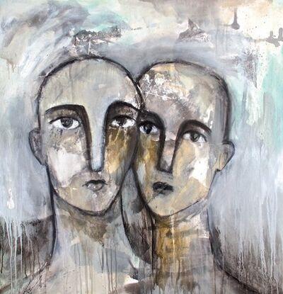 Alia Al Farsi, 'faces series', 2014