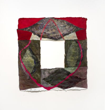 Julia Rooney, 'paper (red)'