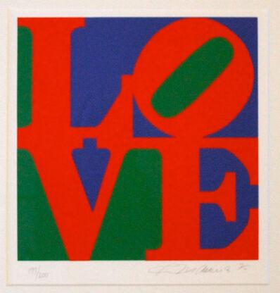 Robert Indiana, 'The Book of Love 3', 1996