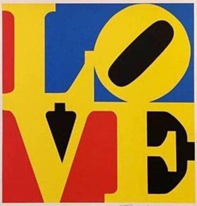 Robert Indiana, 'LOVE (Red Yellow Blue)', 1996