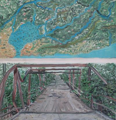 Christian Vinck, 'Según la tierra de los motillones y puente rojo en guarico. Monte y culebra, a monte espina', 2018