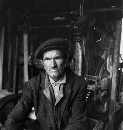 Inta Ruka, 'Man in his work place', 1984