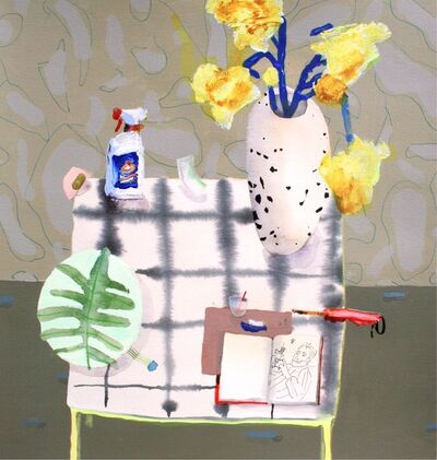 Erika Wastrom, 'Still Life with Sketch of Dan', 2018