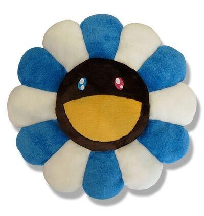 Takashi Murakami, 'FLOWER CUSHION BLUE & BROWN'
