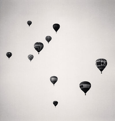 Michael Kenna, 'Ten Balloons, Albuquerque, New Mexico, USA', 1993