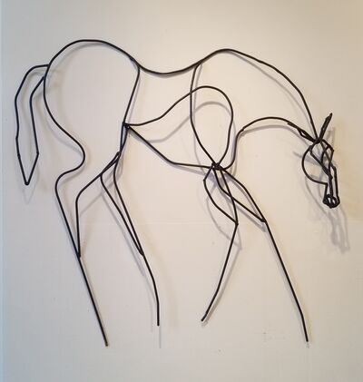 Siri Hollander, 'Caballo Negro', 2017