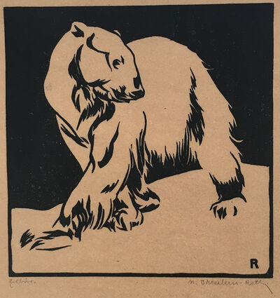 Norbertine Bresslern-Roth, 'Ice Bear', before 1919