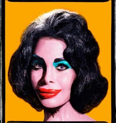 David LaChapelle, 'Amanda as Andy Warhol's Liz (Orange), 2007', 2007