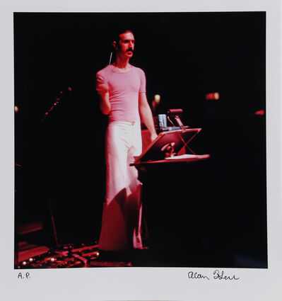Alan Herr, 'Frank Zappa Conducting', ca. 2000