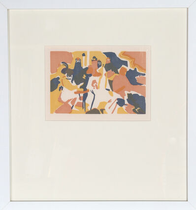 Wassily Kandinsky, 'Orientalisches from XXE Siecle', 1913